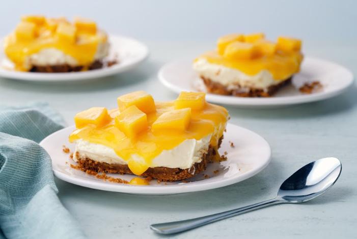 weekend dessert ideas creamy mango ref cake
