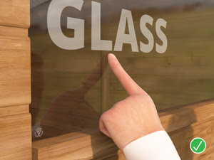 4mm glass is stronger, more durable and more aesthetically pleasing than our competitors - vital element to any garden sheds decision