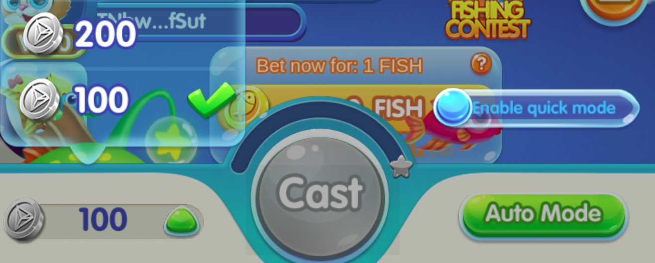 TRON Bet on Fishing Master