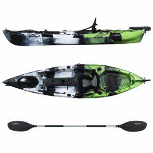 Elkton Outdoors Sit On Top Kayak With Rudder System