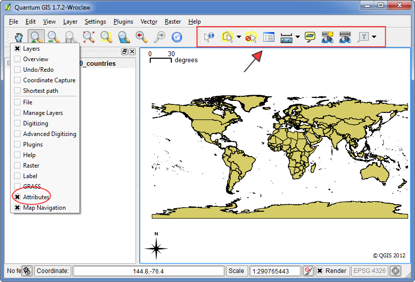 Drawing Lines In Qgis : Quantum gis qgis tutorials tutorial selecting multiple