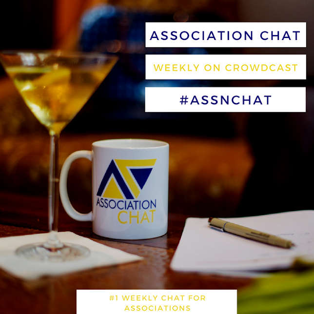 Watch Association Chat live weekly at https://www.crowdcast.io/kikilitalien! #assnchat