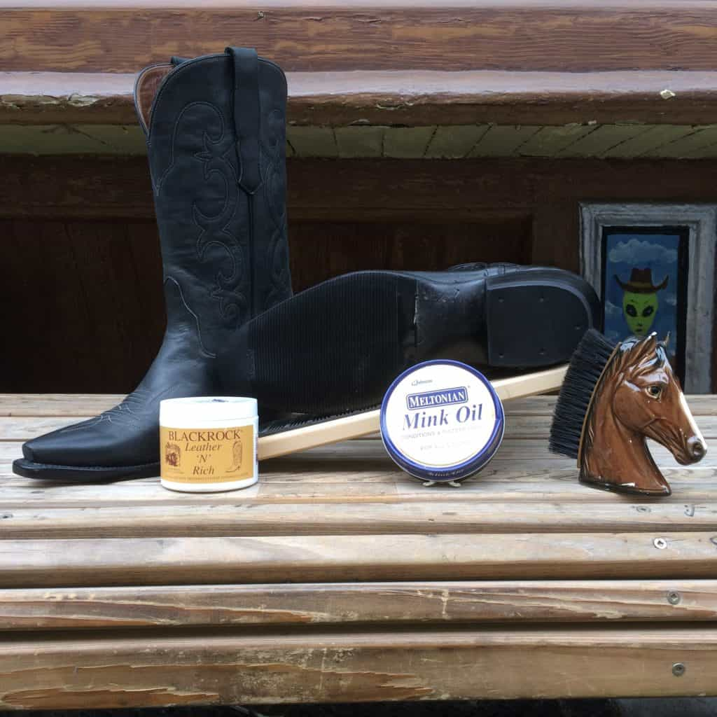 Cowboy Boot Oil or Conditioner
