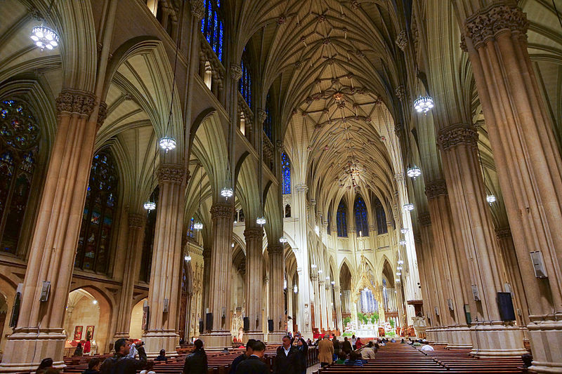 File:NYC - St. Patrick's Cathedral - Interior.JPG