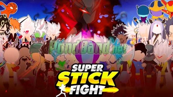 super stick fight all star mod apk