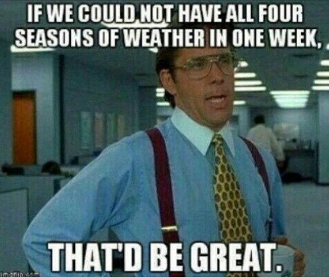 Weather woes meme
