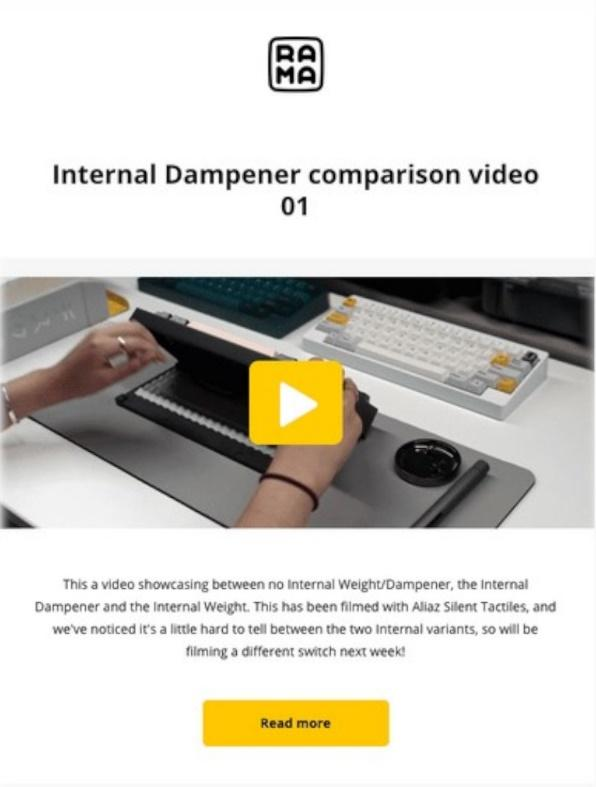 Internal Dampener example