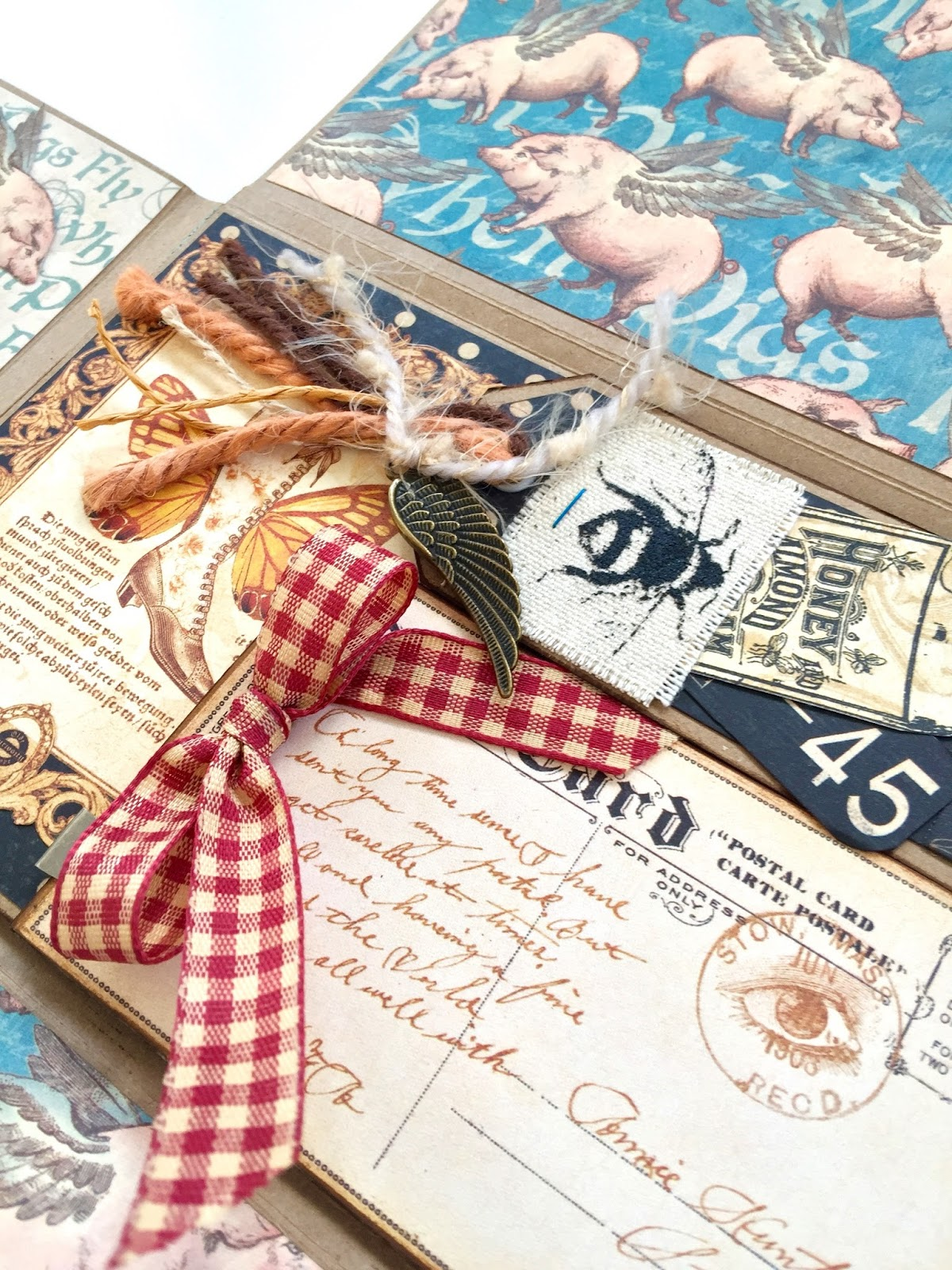 Olde Curiosity Shoppe Flip Flap Mini Album by Marina Blaukitchen Product by Graphic 45 photo 6.jpg
