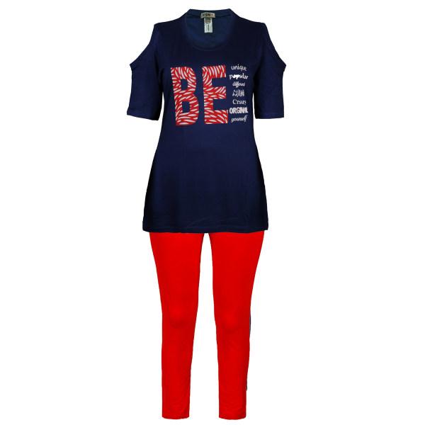 ست تی شرت و شلوار زنانه یشیم کد YS1178