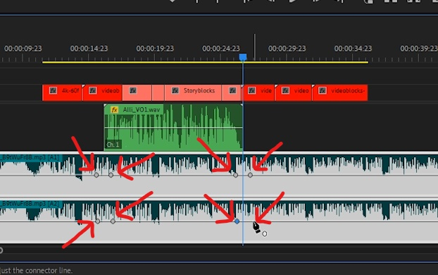 Premiere Pro - Create 2 Keyframes at Beginning and End