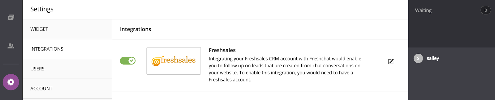 Freshsales Integration-turn toggle on.png
