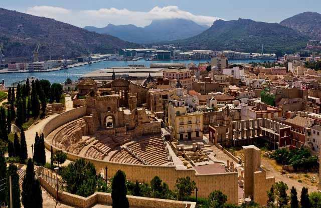 Výsledek obrázku pro cartagena murcia el teatro romano
