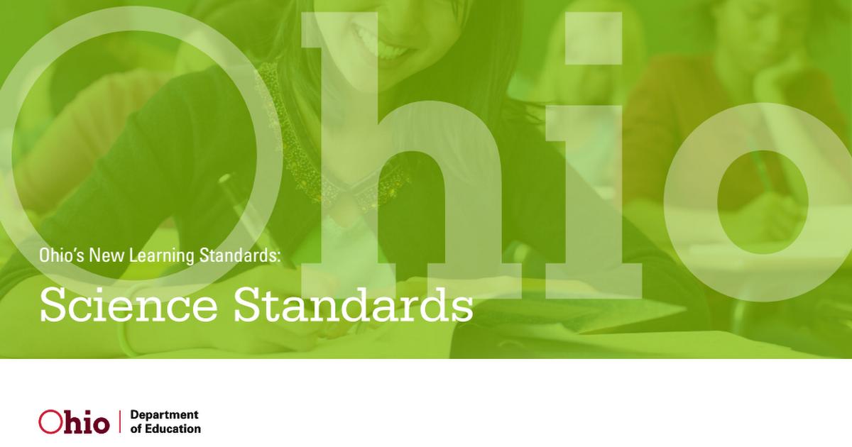 Ohio Common Core New Science Standards pdf - Google Drive