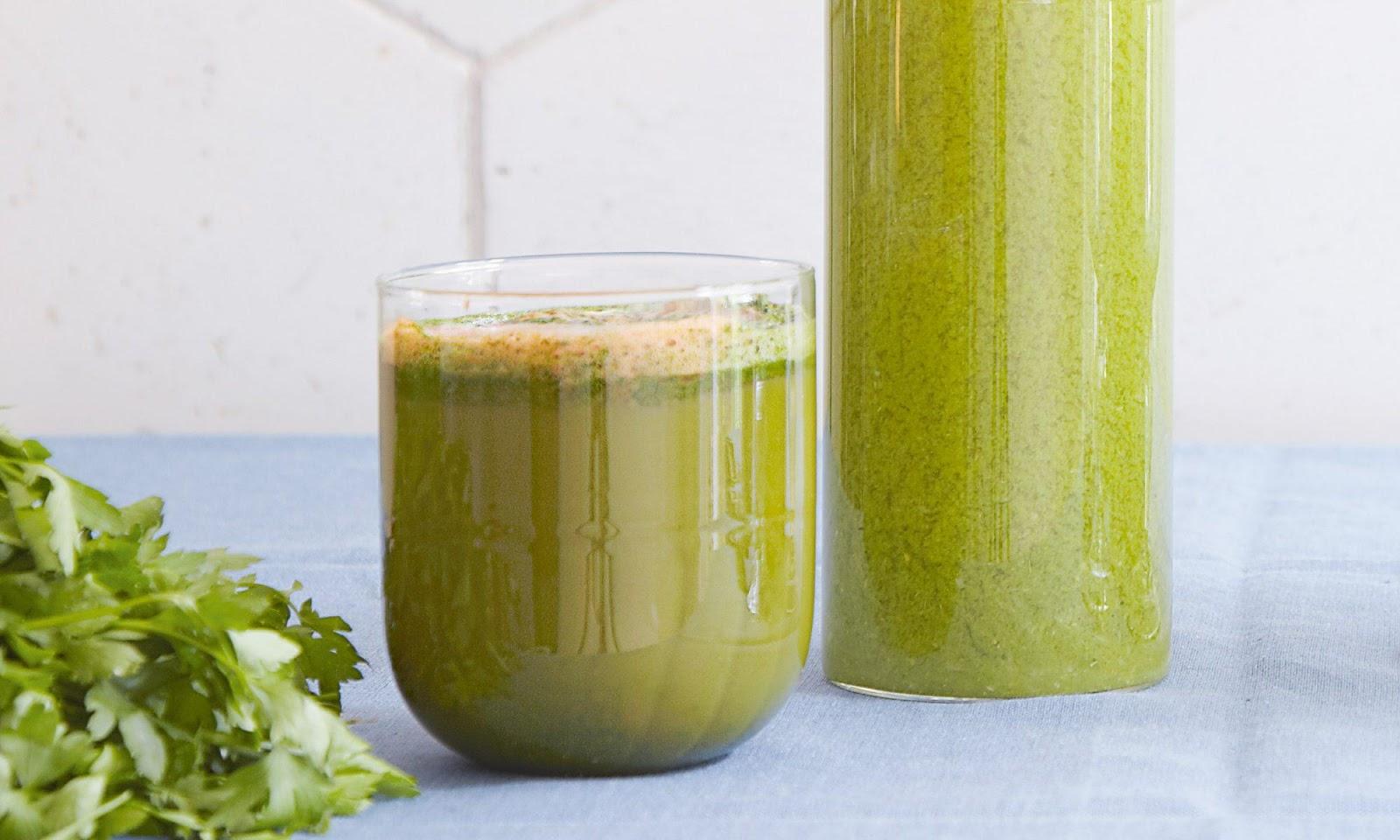 This Green Juice Has More Vitamin C Than Orange Juice Recipe | MyRecipes