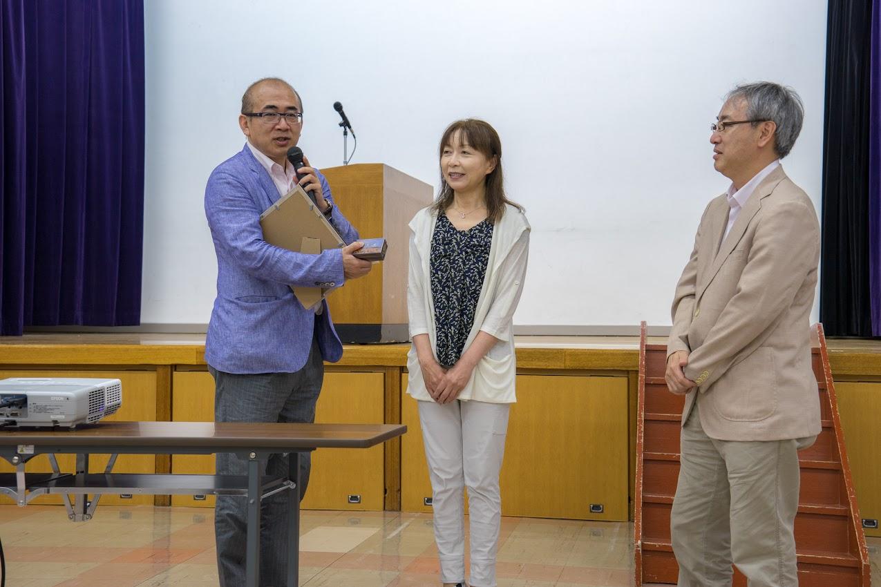 北海道経済部国際観光担当局長 新出哲也様