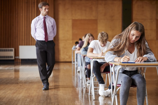 Many students find the first test less stressful when they know they have a retake scheduled