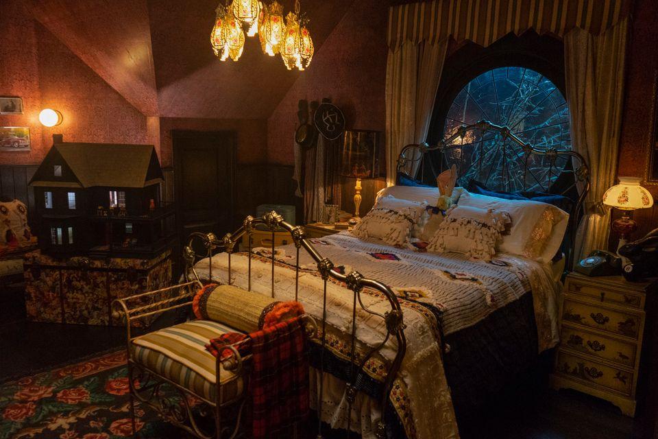 chambre à coucher dans Chilling adventures of Sabrina
