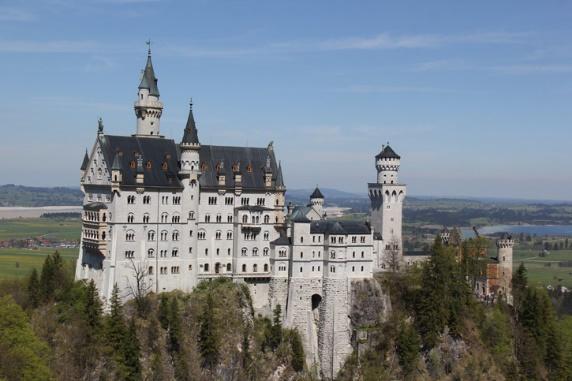 Resultado de imagem para o Castelo de Neuschwanstein