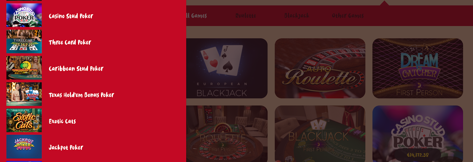 Casoola Casino has lots of great poker games that you can play