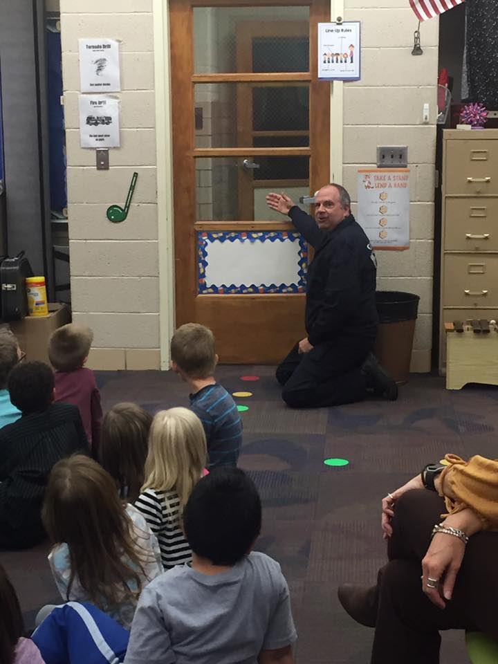 learning about fire prevention