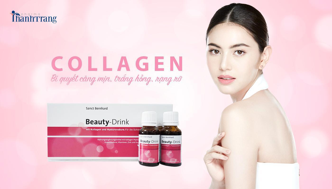Collagen Beauty Drink giúp ngăn ngừa lão hóa hiệu quả