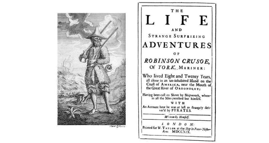 Reading Robinson Crusoe