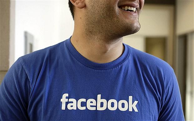 Facebook's branded T-shirt