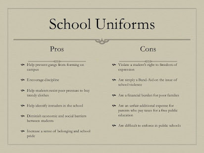 essay and on and school and dress and code