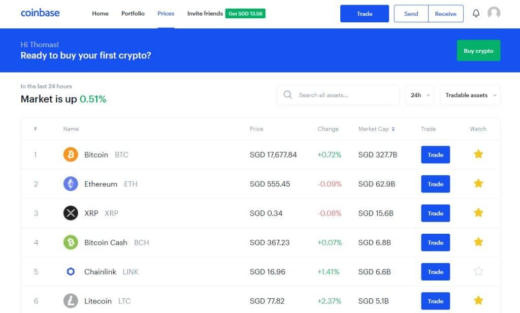 buy bitcoin at coinbase to deposit at a bitcoin casino
