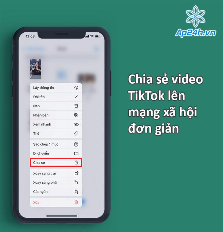tải video tiktok không dính logo
