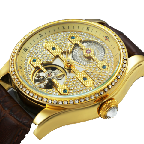 Top Brand Luxury Tourbillon Watch
