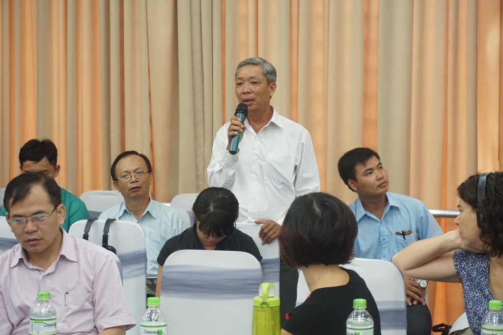 14_Ong Pham Thanh Trung _ Nguoi dan Ba Tri Ben Tre, nuoi trong thuy san