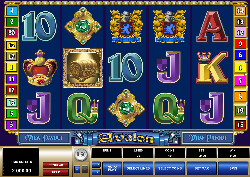 Avalon Slots Game Review