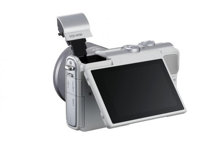 Ультракомпактный дизайн Canon EOS M100