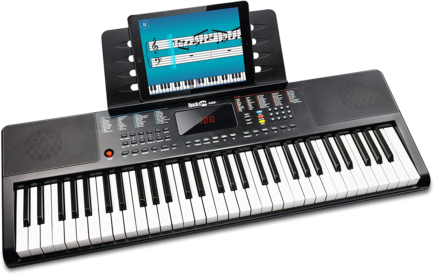 RockJam 61 Portable Electronic Keyboard