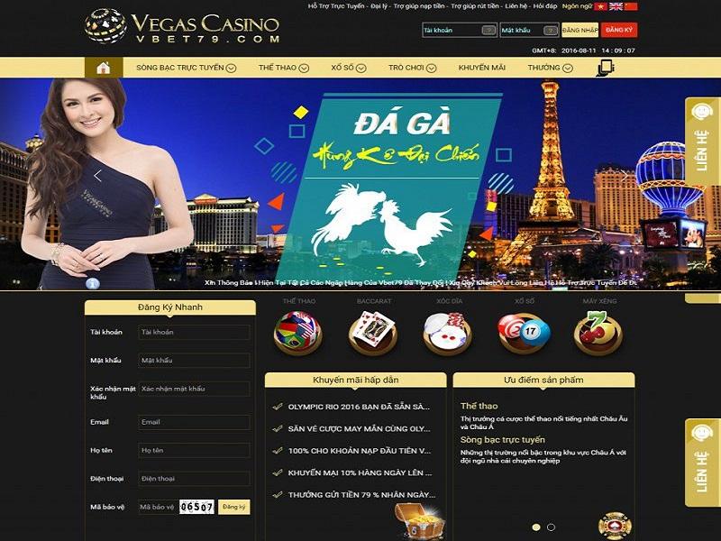 Các bước rút tiền tại vegas casino cho người mới