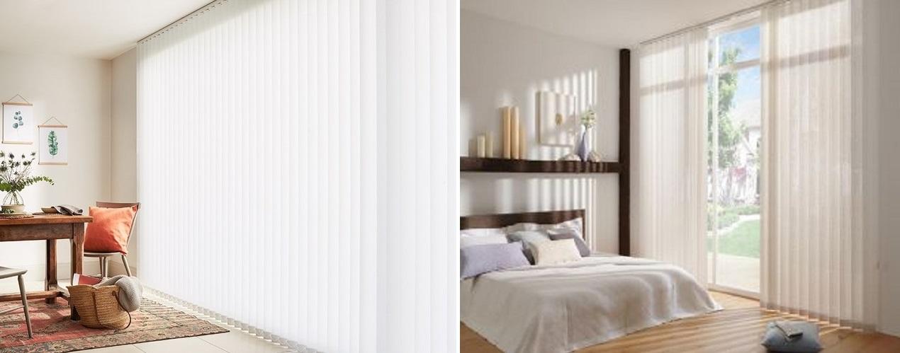 cortinas verticales dormitorio