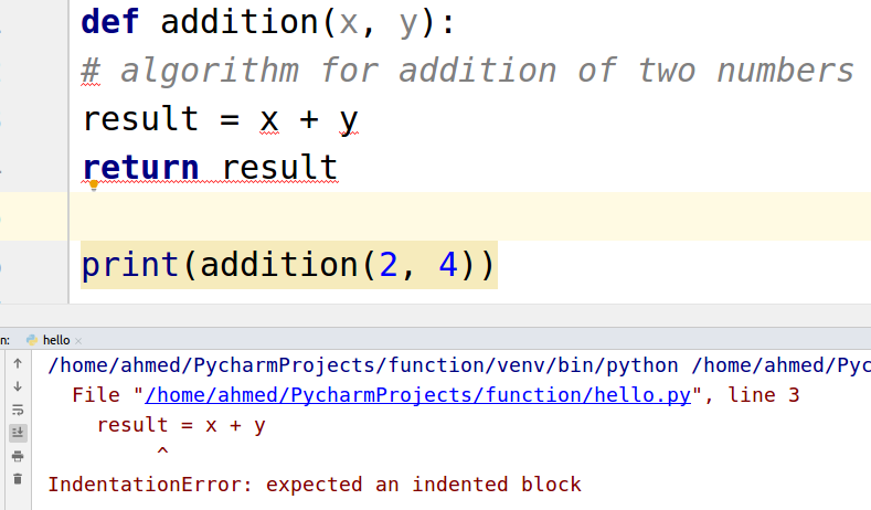 Python Functions Examples