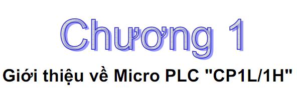 Tài liệu hướng dẫn lập trình PLC Omron Tiếng Việt