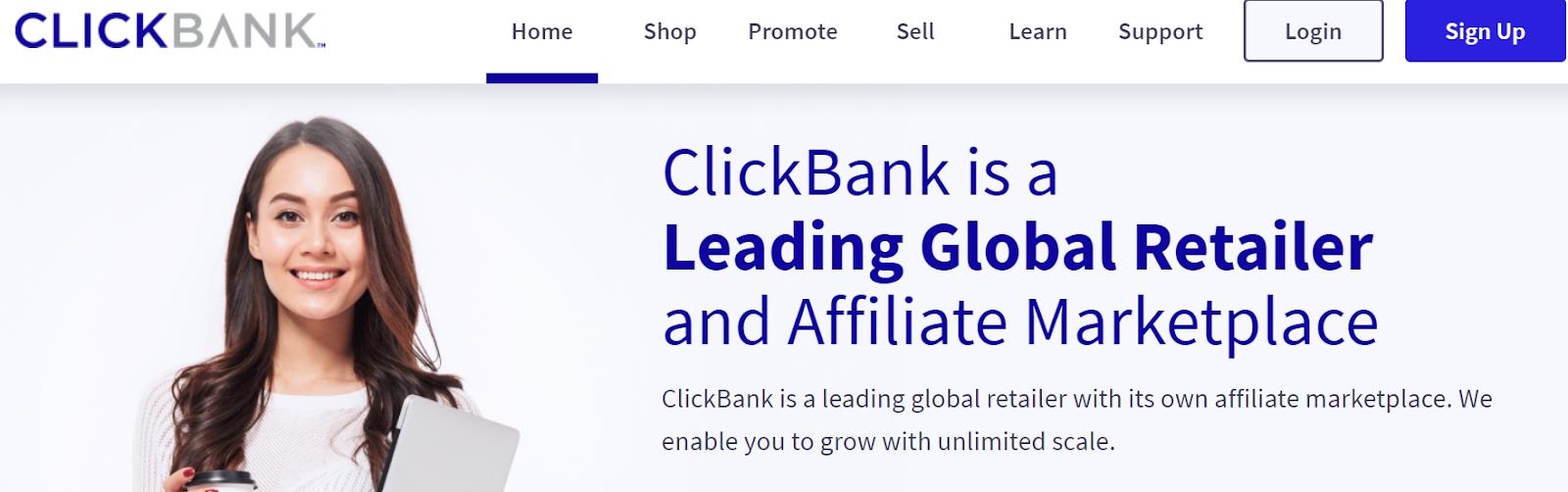ClickBank affiliate marketplace