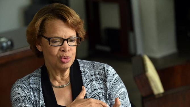 Sandra Honore, Special Representative of the Secretary-General and Head of the United Nations Stabilization Mission in Haiti, rejected the notion the international community is trying to influence the electoral process