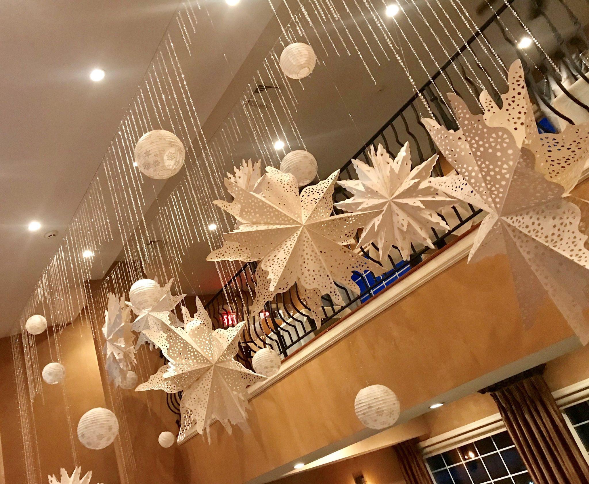 Xmas Ceiling Decoration Ideas