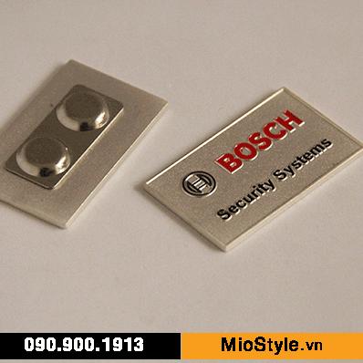 Cơ sở sản xuất huy hiệu ghim cài áo vest đặt làm theo yêu cầu tphcm, huy  hiệu cài áo bằng nam châm Bosch | MioStyle