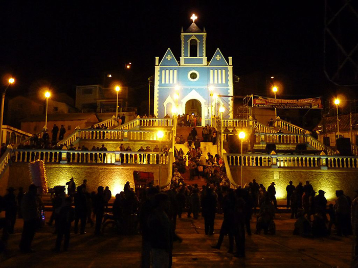 Santuario Señor de Pampacucho, en Sicuani