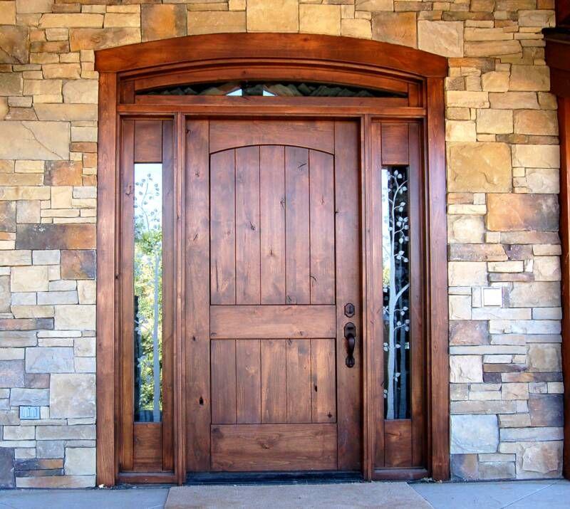 Woodwork Front Door Design