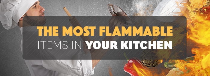 The Most Flammable Items In Your Kitchen Strike First Usa