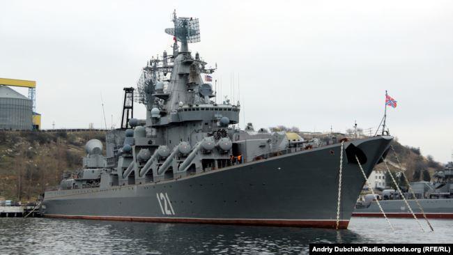 Крейсер «Москва», Севастополь 2013 год