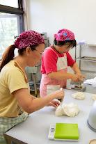 食農工房「パルム」でパン作り