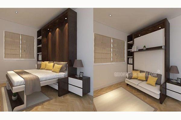 Giường thông minh kết hợp ghế sofa