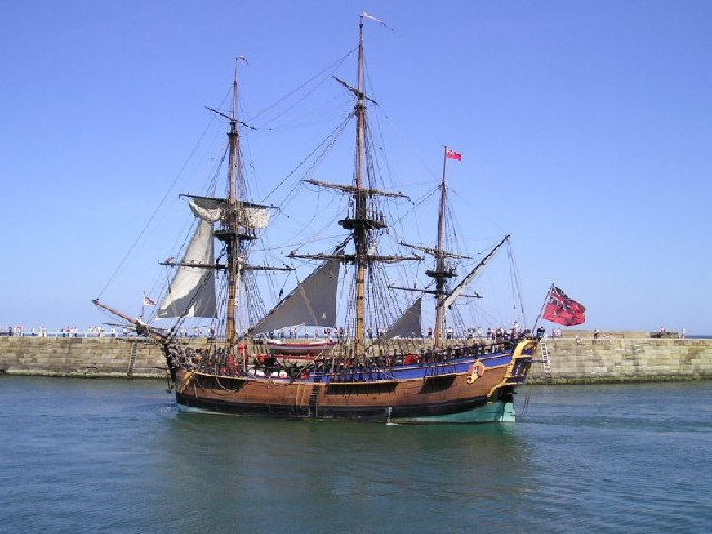 "File:Captain Cook's Boat ""Endeavour"" - geograph.org.uk - 103834 ..."